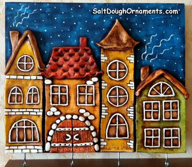 salt dough panel